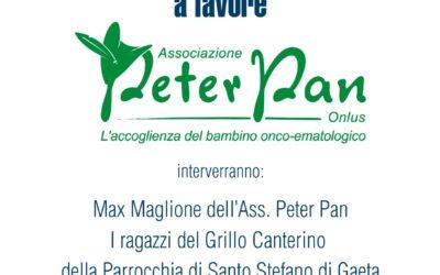 22 giugno: il Club Nautico Gaeta a sostegno di Peter Pan