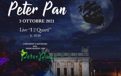 """3 ottobre al Satyrus di Valle Giulia: i """"2 Quarti"""" in concerto per Peter Pan"""