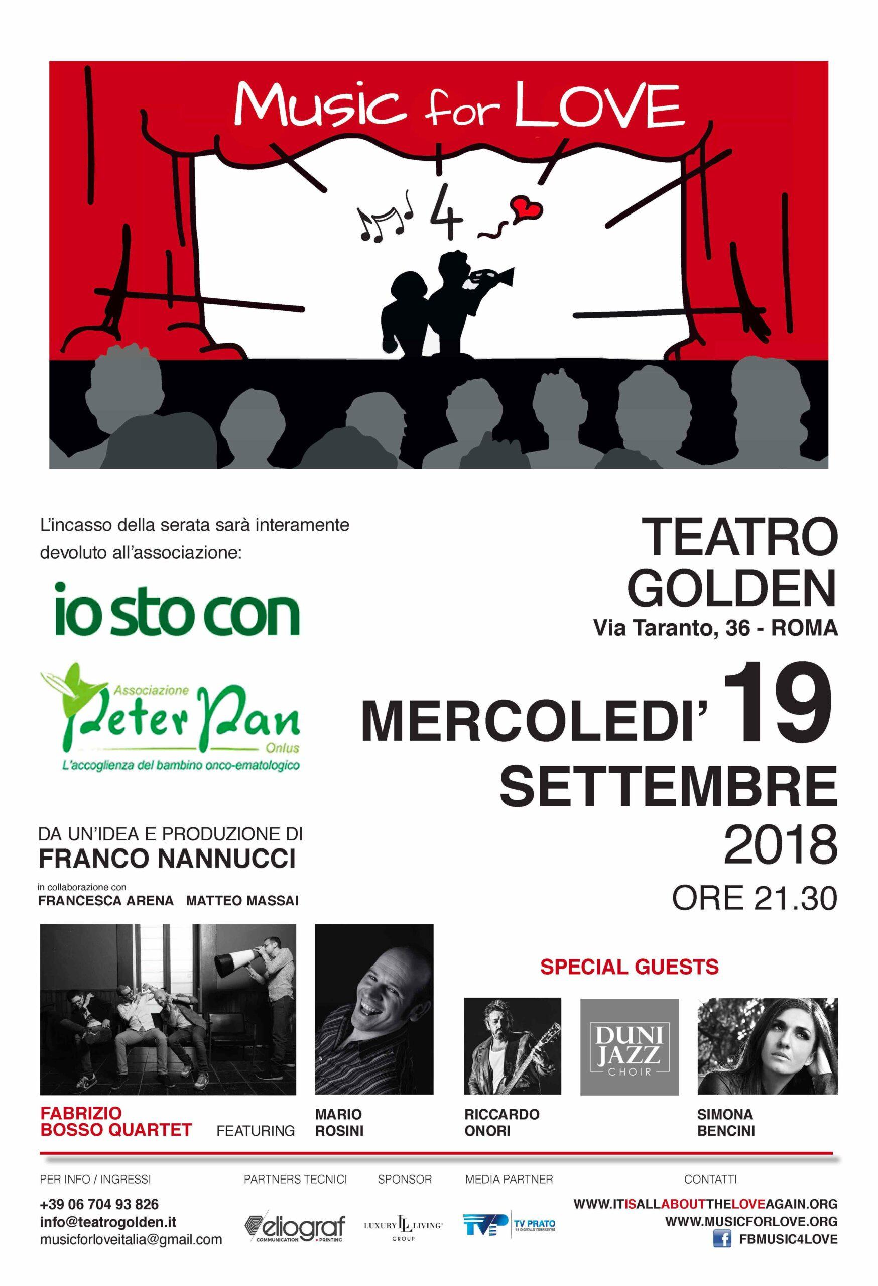 max maglione evento teatro golden