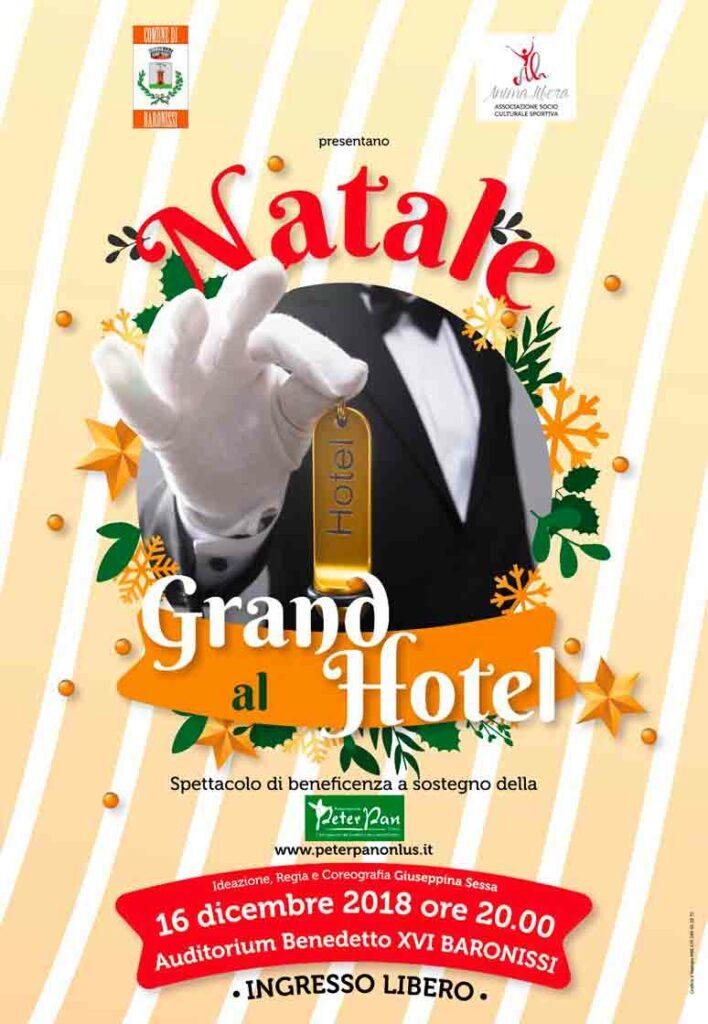 Natale al Grand Hotel Spettacolo a sostegno di Peter Pan
