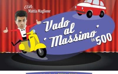 VADO AL MASSIMO….IN 500!