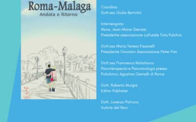 """""""Roma-Malaga"""" di Lorenzo Patruno: il 12 giugno la presentazione del libro a sostegno di Peter Pan"""
