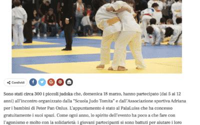 Cancro, 300 piccoli judoka combattono per i loro amici malati