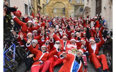 15 dicembre: torna la Pedalata dei Babbo Natale per Peter Pan