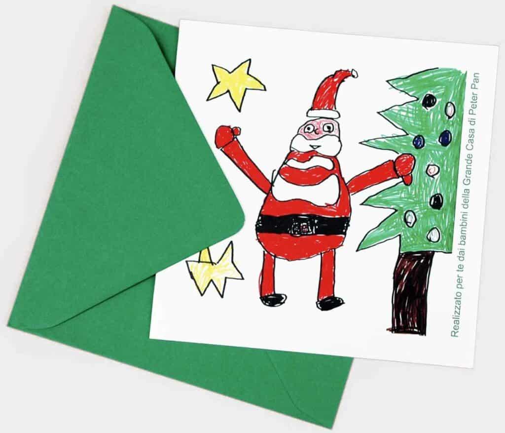 Biglietti di Natale Peter Pan