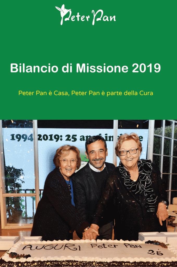 Scopri il Bilancio di Missione 2019 di Peter Pan