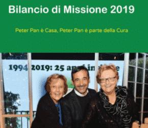 Bilancio di Missione 2019: Peter Pan è Parte della Cura