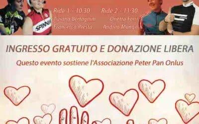 Ride di Beneficenza al Centro Sportivo Jolly: spinning a sostegno di Peter Pan