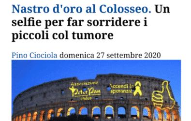 """""""Nastro d'Oro al Colosseo"""". Avvenire parla del settembre d'oro"""
