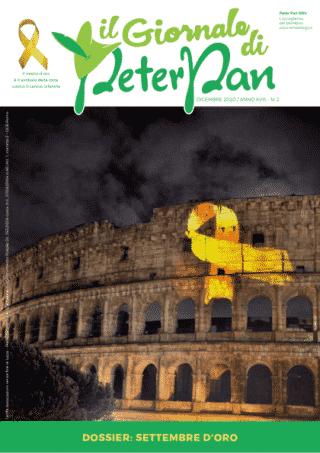 Leggi il numero di dicembre del giornale di Peter Pan dedicato alla ricerca scientifica