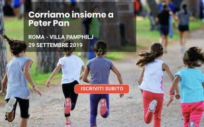Corriamo insieme a Peter Pan: 29 settembre a Villa Pamphilj per la Grande Casa