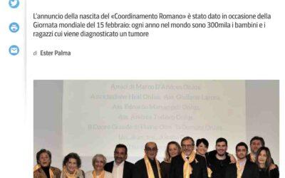 Nasce il Co.Ro: Coordinamento Romano onco-ematologia pediatrica