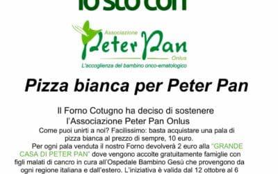 Antico Forno Cotugno: la pizza solidale per Peter Pan