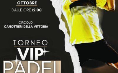 23 ottobre: arriva il Torneo VIP Padel a sostegno di Peter Pan