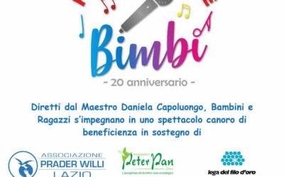 """Forza Cantate Bimbi"": 20 anni di cori e solidarietà"