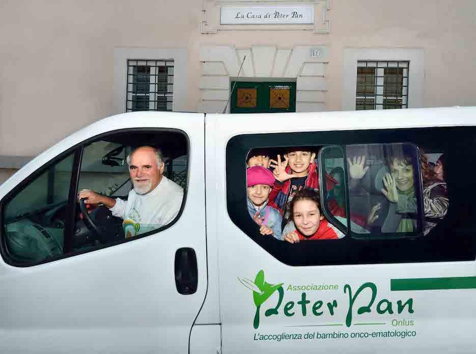 5x1000 Peter Pan per i bambini malati di cancro