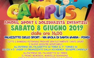 """""""Happy Campus"""": settima edizione a Fondi della solidarietà per Peter Pan"""