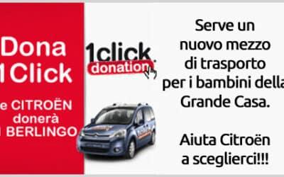 Citroen 1 click donation