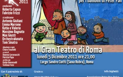 Merry Christmas Peter Pan – a Roma al Gran Teatro il 5 dicembre 2011