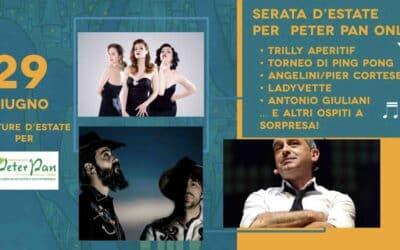 Serata d'Estate per Peter Pan: il 29 giugno festeggia con noi ai Giardini di Castel Sant'Angelo