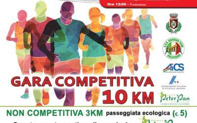"""Quarto Trofeo Podistico """"Santa Barbara"""" a Colleferro a sostegno di Peter Pan"""