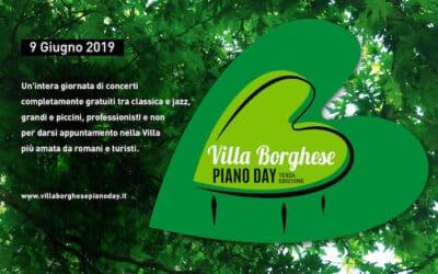 Piano Day 2019 a Villa Borghese: musica a Roma e sostegno di Peter Pan il 9 giugno